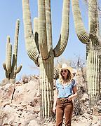 California lifestyle photographer Raymond Rudolph photographs model Heather Nolan in Saguaro National Park