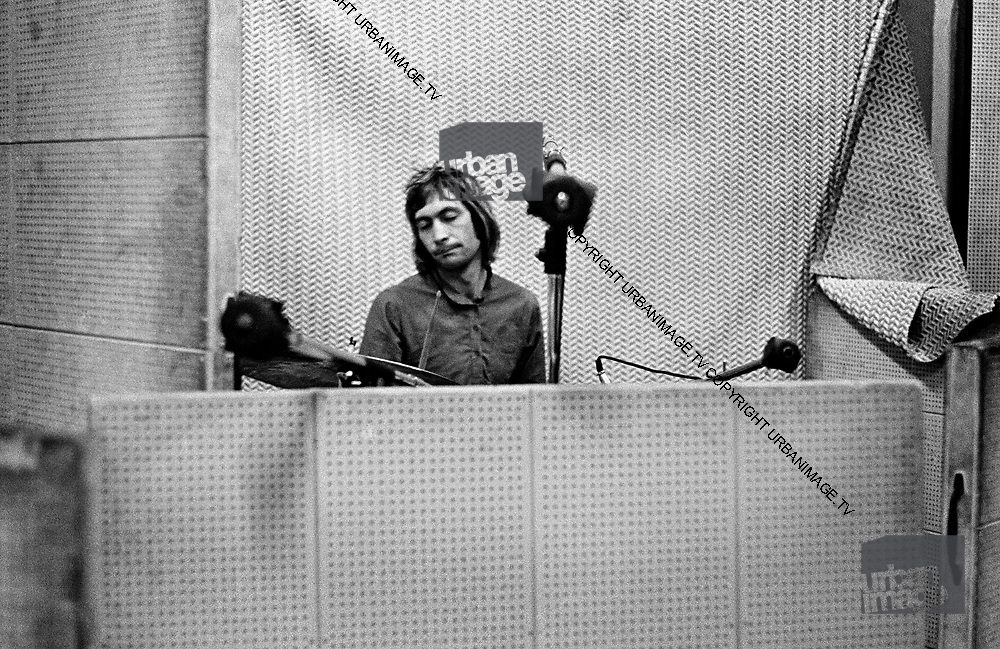 Rolling Stones Charlie Watts Dynamic Sounds Studio, Kingston, Jamaica 1973