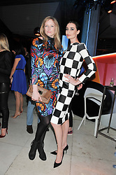 Left to right, JADE PARFITT and ERIN O'CONNOR at the Vogue Festival Party 2013 in association with Vertu held at the Queen Elizabeth Hall, Southbank Centre, London SE1 on 27th April 2013.