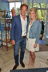 CHRIS JACKSON and NATASHA ARCHER at the launch of AYA jewellery by Chelsy Davy held at Baar & Bass, 336 Kings Road, London on 21st June 2016.