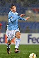 Miroslav Klose Lazio.<br /> Roma 25-02-2016 Stadio Olimpico, Football Calcio 2015/2016 Europa League. Lazio - Galatasaray. Foto Antonietta Baldassarre / Insidefoto