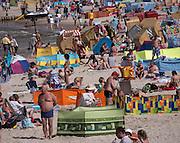 Nadmorska plaża w Kołobrzegu