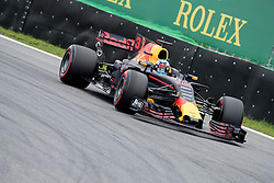 November 11, 2017 - Sao Paulo, Sao Paulo, Brazil - 3 DANIEL RICCIARDO, of Red Bull Racing, drives during the free training for the Formula One Grand Prix of Brazil at Interlagos circuit, in Sao Paulo, Brazil. The grand prix will be celebrated next Sunday, November 12. (Credit Image: © Paulo Lopes via ZUMA Wire)