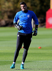 Sergio Romero of Manchester United - Mandatory by-line: Matt McNulty/JMP - 19/10/2016 - FOOTBALL - Manchester United - Training session ahead of Europa League game against Fenerbahce