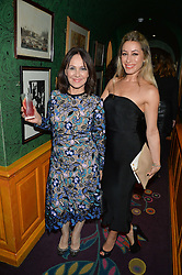Left to right, ARLENE PHILLIPS and her daughter ALANA at a dinner to celebrate the 125th anniversary of the Dog's Trust held at Annabel's, Berkeley Square, London on 1st November 2016.