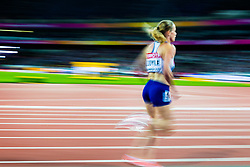 London, 2017 August 07. Eilidh Doyle, Great Britain, in the Women's 400m semi-final on day four of the IAAF London 2017 world Championships at the London Stadium. © Paul Davey.