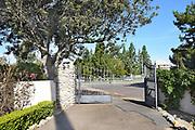 Entry Gate at Irvine Ranch Historic Park