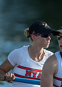 Henley-on-Thames. United Kingdom.  <br /> Women's Pair. USA W2-. Bow. Megan KALMOE and Tracy EISSER.  2017 Henley Royal Regatta, Henley Reach, River Thames. <br /> <br /> 18:45:09  Saturday  01/07/2017   <br /> <br /> [Mandatory Credit. Peter SPURRIER/Intersport Images.