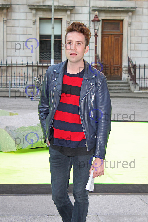 LONDON - June 05: Nick Grimshaw at the Royal Academy of the Arts Summer Exhibition 2013 - Preview Party (Photo by Brett D. Cove)