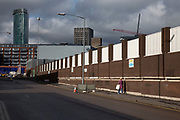 Desolate streets in the area of Digbeth  in central Birmingham, United Kingdom.  Following the destruction of the Inner Ring Road, Digbeth is now considered a district within Birmingham City Centre. As part of the Big City Plan, Digbeth is undergoing a large redevelopment scheme that will regenerate the old industrial buildings into apartments, retail premises, offices and arts facilities. There is still however much industrial activity in the south of the area.