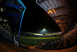 Fratton Park prepares for tonight FA Cup rematch - Mandatory byline: Jason Brown/JMP - 07966386802 - 19/01/2016 - FOOTBALL - Fratton Park - Portsmouth, England - Portsmouth v Ipswich Town - The Emirates FA Cup