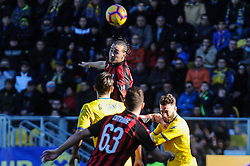 December 26, 2018 - Frosinone, Italy - Diego Laxalt of AC Milan reacts during the Serie A match between Frosinone Calcio and AC Milan at Stadio Benito Stirpe on December 26, 2018 in Frosinone, Italy. (Credit Image: © Federica Roselli/NurPhoto via ZUMA Press)