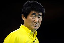 08-07-2010 VOLLEYBAL: WLV NEDERLAND - ZUID KOREA: EINDHOVEN<br /> Nederland verslaat Zuid Korea met 3-0 / Coach Chi Yong Shin<br /> ©2010-WWW.FOTOHOOGENDOORN.NL