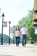 Beth and Fred engagement session Saturday June 13, 2015 in New Hope, Pennsylvania. (Photo by William Thomas Cain)