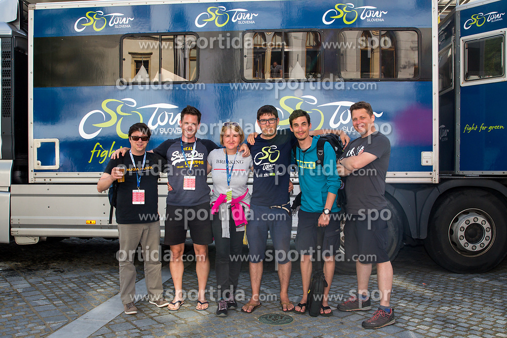 Team Siol Sportal / Sportida during 5th Stage of 26th Tour of Slovenia 2019 cycling race between Trebnje and Novo mesto (167,5 km), on June 23, 2019 in Slovenia. Photo by Matic Klansek Velej / Sportida