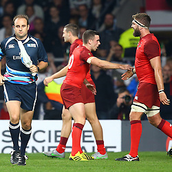 LONDON, ENGLAND - SEPTEMBER 18:  during the Rugby World Cup 2015 Pool A match between England and Fiji at Twickenham Stadium on September 18, 2015 in London, England.  (Photo by Steve Haag Emirates)
