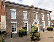 Historic building in Market Place, Halesworth, Suffolk, England, UK