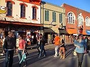 Sixth Street in Austin, Texas.