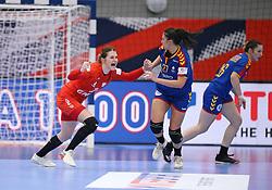 KOLDING, DENMARK - DECEMBER 5: Natalia Nosek during the EHF Euro 2020 Group D match between Poland and Romania in Sydbank Arena, Kolding, Denmark on December 5, 2020. Photo Credit: Allan Jensen/EVENTMEDIA.
