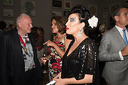 TRACEY EMIN; NANCY DELL D'OLIO, Royal Academy Summer exhibition party. Piccadilly. 7 June 2016