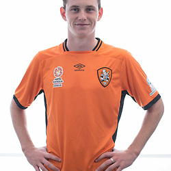 BRISBANE, AUSTRALIA - MARCH 17: Daniel Leck poses for a photo during the Brisbane Roar Youth headshot session at QUT Kelvin Grove on March 17, 2017 in Brisbane, Australia. (Photo by Patrick Kearney/Brisbane Roar)