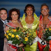Musical Mamma Mia, nieuwe spelers, Erwin van Lambaart, Marjolein Touw, Lenette van Dongen en Fred Butter