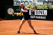 Veronika Kudermetova of Russia in action during the third round of the 2021 Internazionali BNL d'Italia, WTA 1000 tennis tournament on May 13, 2021 at Foro Italico in Rome, Italy - Photo Rob Prange / Spain ProSportsImages / DPPI / ProSportsImages / DPPI
