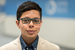 2 December 2019, Madrid, Spain:  Lutheran World Federation delegate Sebastian Ignacio Muñoz Oyarzo from the Evangelical Lutheran Church in Chile during day one of COP25 in Madrid.