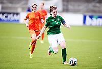 Fotball , 24. juli 2014 , U19 Women , Netherlands - Ireland<br /> Nederland - Irland 4-0<br /> Ciara O`Connell , IRL