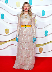 Edith Bowman attending the 73rd British Academy Film Awards held at the Royal Albert Hall, London.