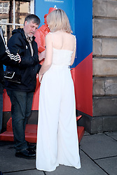 Edinburgh International Film Festival 2019<br /> <br /> Hurt By Paradise (World Premiere)<br /> <br /> Stars and guests arrive on the red carpet for the world premiere<br /> <br /> Pictured: Tanya Burr<br /> <br /> Alex Todd | Edinburgh Elite media