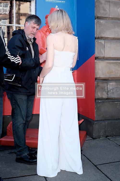 Edinburgh International Film Festival 2019<br /> <br /> Hurt By Paradise (World Premiere)<br /> <br /> Stars and guests arrive on the red carpet for the world premiere<br /> <br /> Pictured: Tanya Burr<br /> <br /> Alex Todd   Edinburgh Elite media