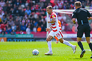 Herbie Kane of Doncaster Rovers (15) in action during the EFL Sky Bet League 1 play off first leg match between Doncaster Rovers and Charlton Athletic at the Keepmoat Stadium, Doncaster, England on 12 May 2019.