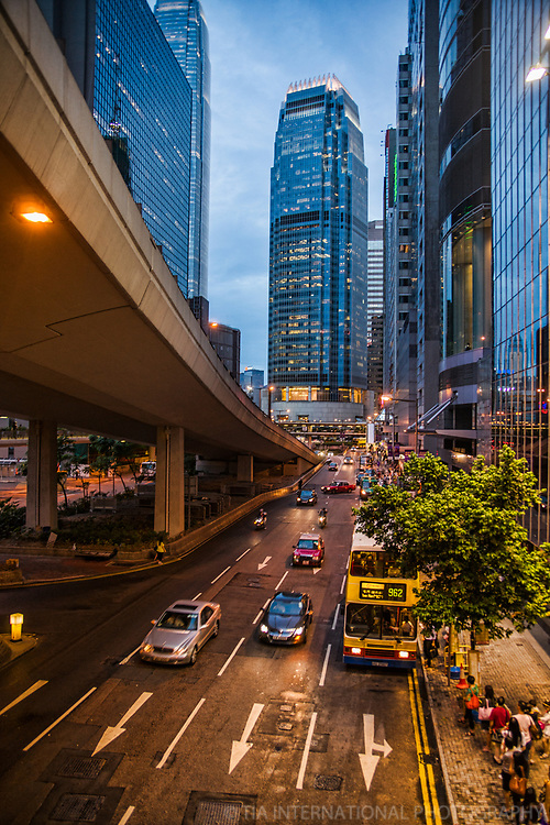 International Finance Centre & Connaught Road, Central