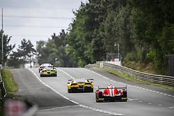 June 4, 2017 - Le Mans, France - 63 CORVETTE RACING (USA) CHEVROLET CORVETTE C7R LMGTE PRO ANTONIO GARCIA (SPA) JAN MAGNUSSEN (DNK) JORDA TAYLOR  (Credit Image: © Panoramic via ZUMA Press)