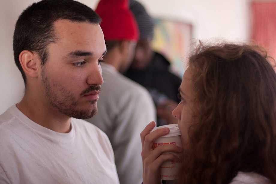 Production still from Jeremy Garcia's short film, The Condition Of Existence.