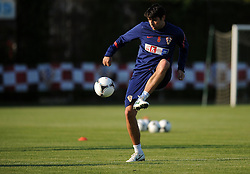 18.05.2012, Brezice, SLO, UEFA EURO 2012, Trainingscamp, Kroatien, 2. Trainingstag, im Bild Vedran Corluka // during 2nd practice day of Croatian National Footballteam for preparation UEFA EURO 2012 at Brezice, Slovenia on 2012/05/18. EXPA Pictures © 2012, PhotoCredit: EXPA/ Pixsell/ Daniel Kasap....***** ATTENTION - OUT OF CRO, SRB, MAZ, BIH and POL *****