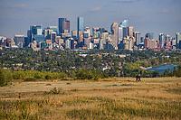 Calgary Skyline from Edgeworthy Park