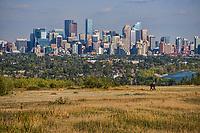 Calgary Skyline from Edgeworthy Park