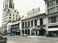 1949 Looking west on Hollywood Blvd. from McCadden Pl.