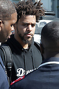 Washington, D.C-Oct 10:  Recording Artist J. Cole attends the Million Man March 20th Anniversary March aka JusticeOrElse March held in Washington, D.C. on October 10, 2015.  Photo by Terrence Jennings/terrencejennings.com