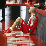 Olympiacos's Pero Antic during their Turkish Airlines Euroleague Basketball playoffs Game 5 Olympiacos between Anadolu Efes at SEF Indoor Hall in Piraeus, in Greece, Friday, April 26, 2013. Photo by TURKPIX