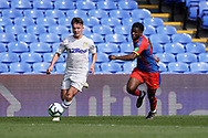 Alfie Mccalmont of Leeds United U23 during the U23 Professional Development League match between U23 Crystal Palace and Leeds United at Selhurst Park, London, England on 15 April 2019.