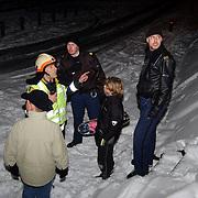 Kind vermist Gooimeer Huizen, kind gevonden .politie, brandweer, sneeuw, kou