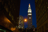 Metropolitan Life Insurance Company Tower, a clock tower in Madison Square Park in New York City. Manhattan. <br /> <br /> Photo by Robert Caplin