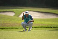 November 22, 2018 - Hong Kong, China - A photo showing Spanish Golf player Sergio Garcia looking at a Golf Ball during a match in the Honma Hong Kong Open 2018 in Hong Kong, China. 22 November 2018. (Credit Image: © Harry Wai/NurPhoto via ZUMA Press)