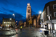 Boston Stump <br /><br />Boston had the highest proportion of votes for Brexit in mainland UK. Boston in Lincolnshire was once a sleepy rural town. Since early the 21st century a large influx of economic migrants mainly from Eastern Europe have found work across Lincolnshire, working for the minimum wage in agricultural and construction industries, doing jobs that locals don't to do. Towns have expanded sometimes by 10% during this period. British business needs the migrant workers to survive, but but local people voted the highest proportion for Brexit, 75% against 'Remain', in a protest vote against migrant workers.