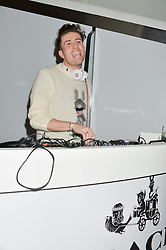 NICK GRIMSHAW at the Future Contemporaries Party in association with Coach at The Serpentine Sackler Gallery, West Carriage Drive, Kensington Gardens, London on 21st February 2015.