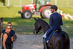 Van Gasselt Vincent, NED, Delacroix II<br /> Nederlands Kampioenschap dressuur<br /> Ermelo 2020<br /> © Hippo Foto - Sharon Vandeput<br /> 20/09/2020