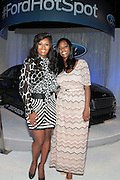 June 30, 2012-Los Angeles, CA : (L-R)Actress/TV personality Tocarra Carter and Monica Nelson, CEO, Uniworld Group attends the 2012 BET Awards- Media Room held at the Shrine Auditorium on July 1, 2012 in Los Angeles. The BET Awards were established in 2001 by the Black Entertainment Television network to celebrate African Americans and other minorities in music, acting, sports, and other fields of entertainment over the past year. The awards are presented annually, and they are broadcast live on BET. (Photo by Terrence Jennings)